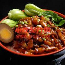 台湾风味卤肉饭制作图文资料参考视频