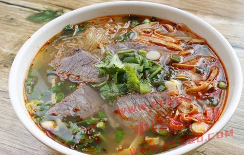 淮南牛肉汤的做法和制作教程,正宗技术培训教程配方教学视频 牛肉汤 第1张