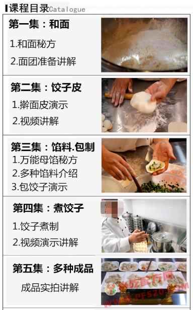 饺子馅料的做法和制作教程,正宗技术培训教程配方教学视频 饺子 第3张