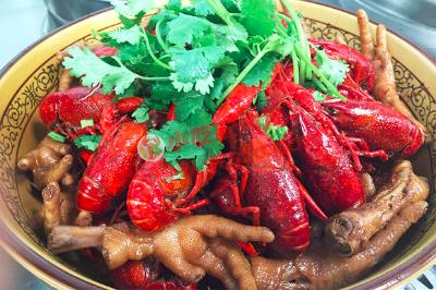 凤爪龙虾的做法和配方制作,正宗技术教程
