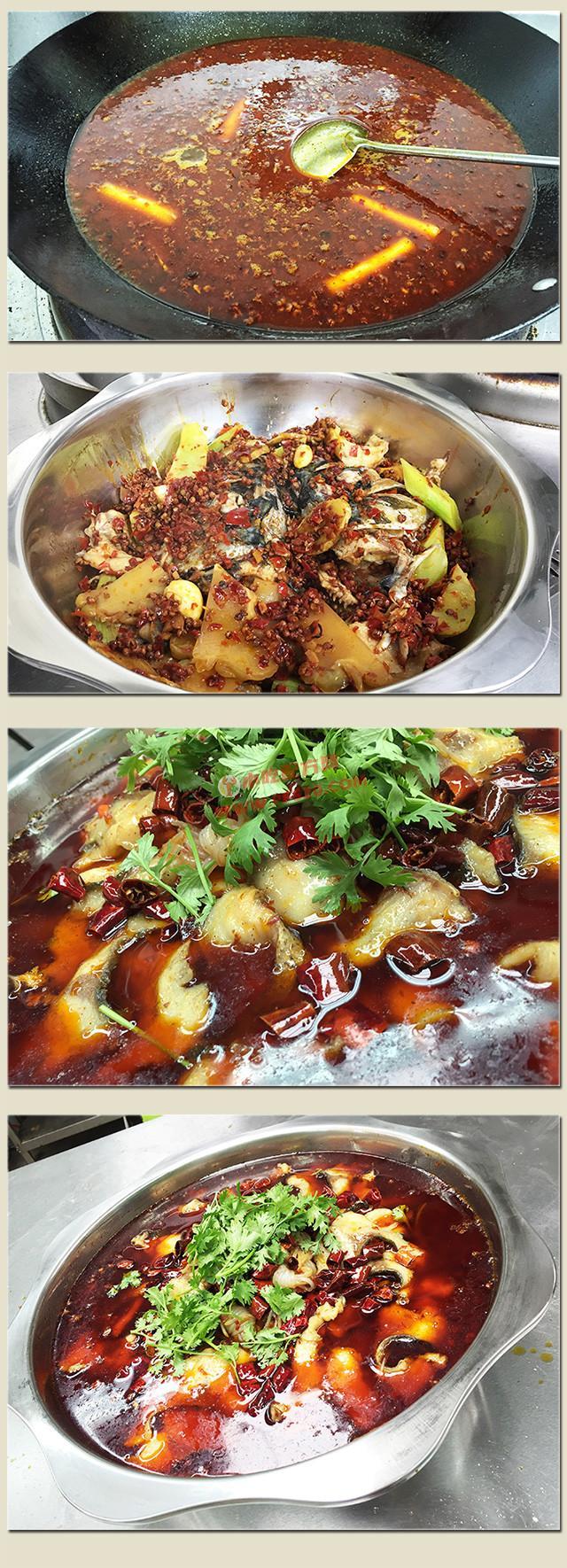 冷锅鱼的正宗做法和冷锅鱼底料炒制配方,技术教程视频大全 冷锅鱼 第4张