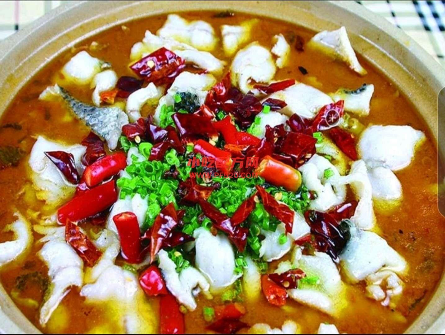 酸菜鱼的做法和制作教程,正宗商用配方教程